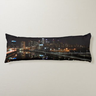 Night in Philly Body Pillow