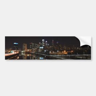 Night in Philly Bumper Sticker