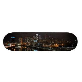 Night in Philly Skateboard