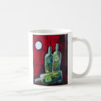 Night in Red Classic White Coffee Mug
