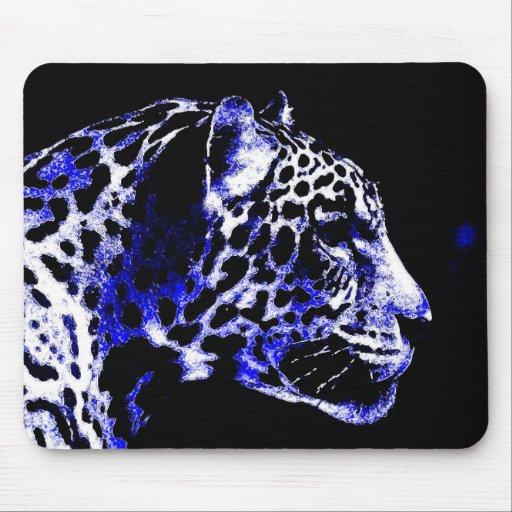 Night Jaguar Mouse Pad