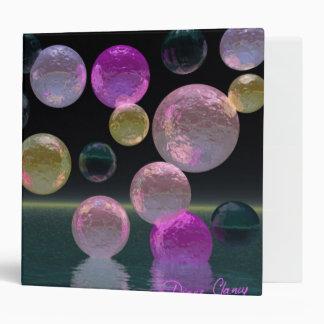 Night Jewels – Magenta and Black Brilliance Vinyl Binder