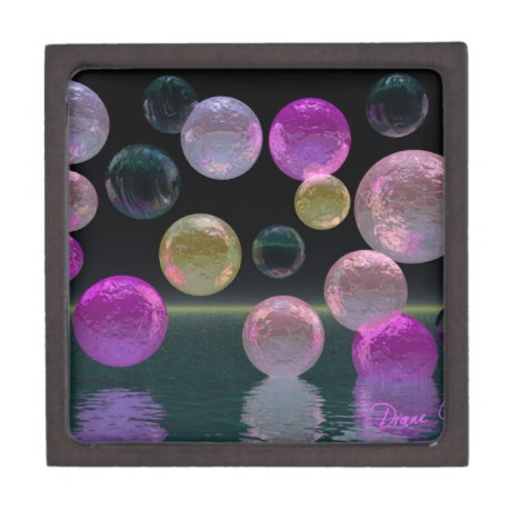 Night Jewels – Magenta and Black Brilliance Keepsake Box