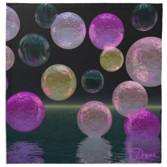 Night Jewels – Magenta and Black Brilliance mojo_napkin
