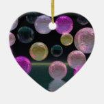 Night Jewels – Magenta and Black Brilliance Christmas Ornament
