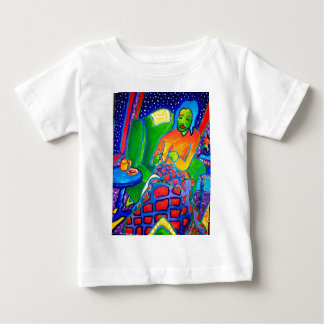 Night Knitting by Piliero Baby T-Shirt