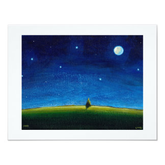 Night landscape art The Stars Are Calling, Colin Card
