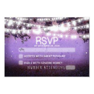 String Lights RSVP Cards