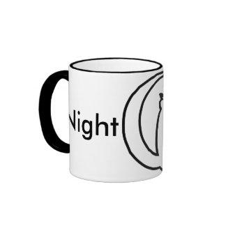 Night Latte Ringer Coffee Mug