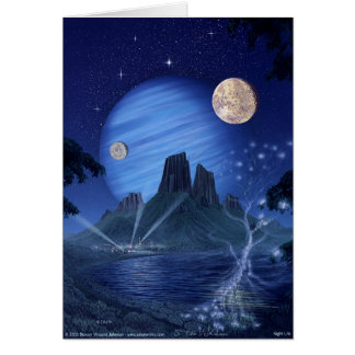 Night Life Greeting Card