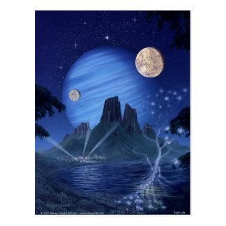 Night Life Postcard