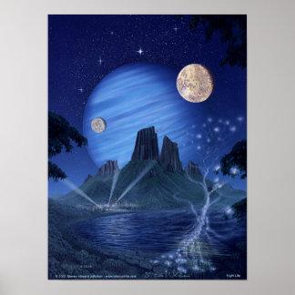 Night Life Poster