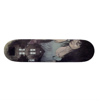 Night Life skate Skateboard Deck