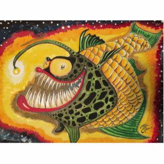 """""""Night Light"""" Fish with Attitude Statuette"""