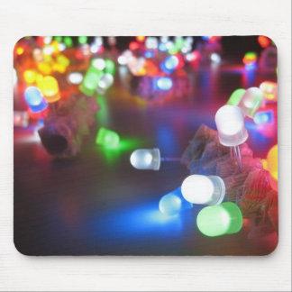 Night Light, Light Bright Mouse Pad