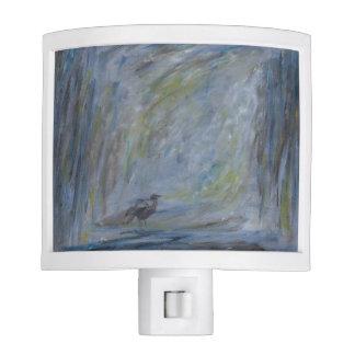 "Night Light - Oil Painting ""Apprehend"""