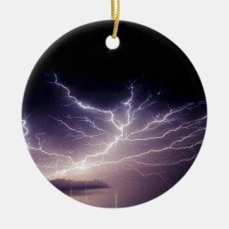 Night Lightning Ornament