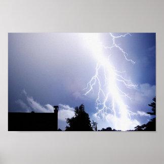 Night Lightning Posters