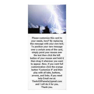 Night Lightning Rack Card