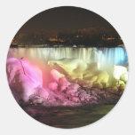 Night Lights: Amercian Falls Stickers