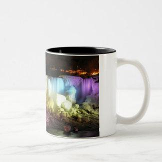 Night Lights: American Falls Mug