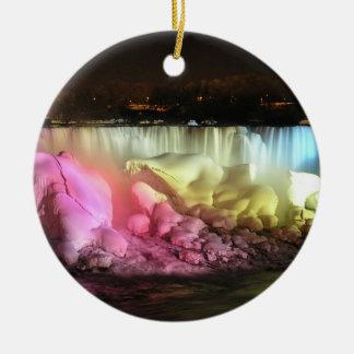 Night Lights: American Falls Ornament