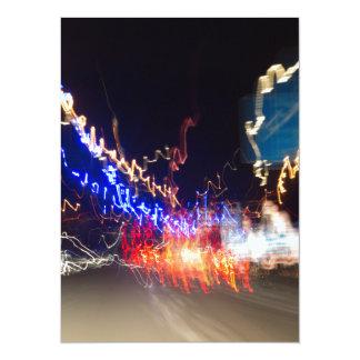 Night lights card