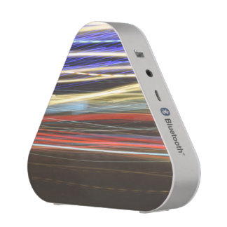 Night Lights Glow / Colorful Lines / Abstract Art Speaker