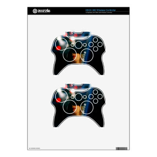 Night Lights Lady Red Lipstick Car Mirror Xbox 360 Controller Decal