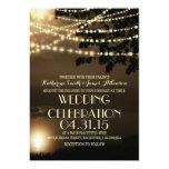 "night lights nature inspired wedding invitation 5"" x 7"" invitation card"