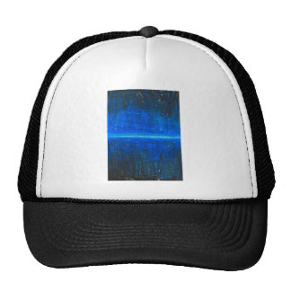 Night Line (abstract cityscape) Trucker Hat