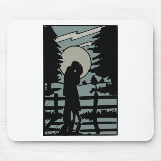 Night love mouse pad