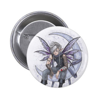 Night Lover Fairy Button