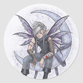 Night Lover Fairy Sticker