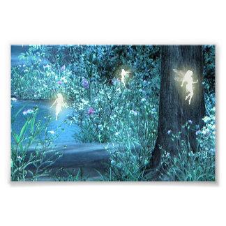 Night magic fairy 6x4 photo print