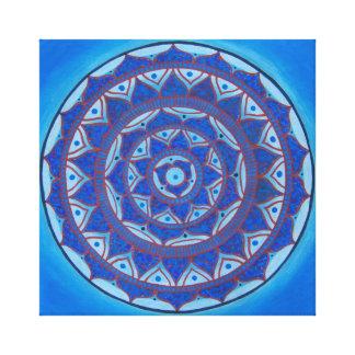 Night Mandala Canvas Print
