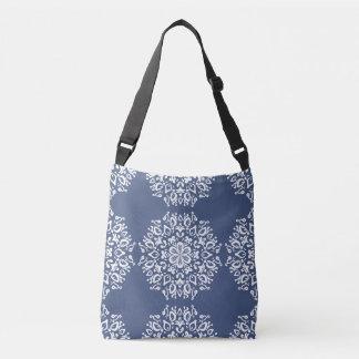 Night Mandala Crossbody Bag
