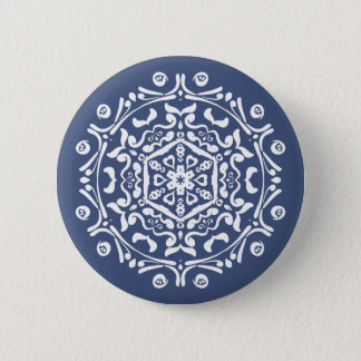 Night Mandala Pinback Button