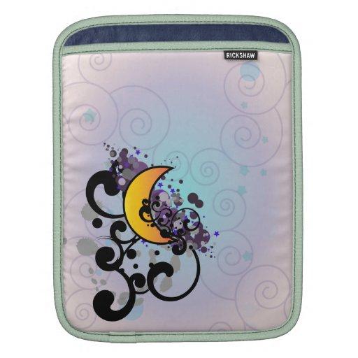 Night Moon Sleeves For iPads