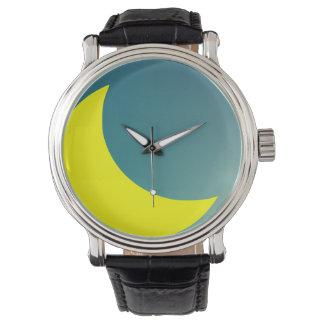 night moon wrist watch