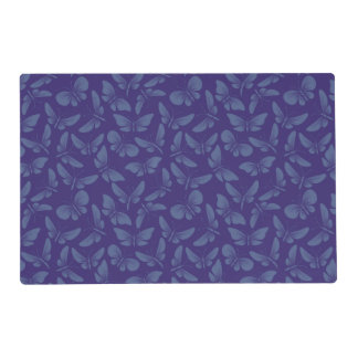 night moth butterflies background placemat