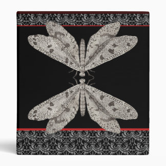 Night Moth Communication From an Antique Engraving Binder