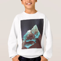 Night Mountains No. 2.jpg Sweatshirt