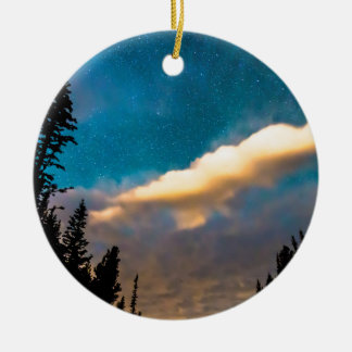 Night Moves Ceramic Ornament