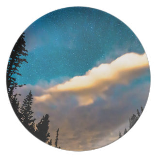Night Moves Melamine Plate