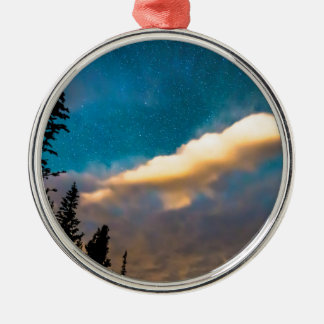 Night Moves Metal Ornament