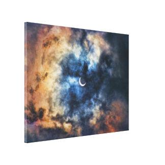 Night Moves - Solar Eclipse Canvas Print