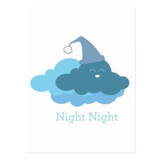 Night Night Post Card