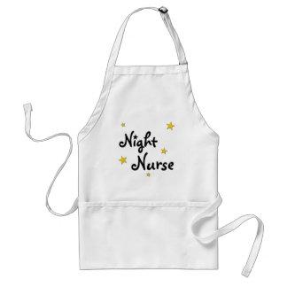 Night Nurse Adult Apron