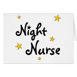 Night Nurse Card